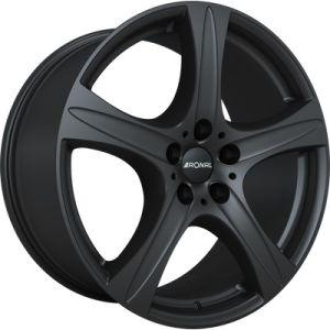 Ronal R55 BLACK ALL 7,5x17 5x108 ET 45