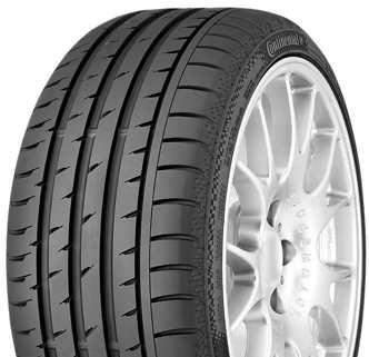 Continental ContiSportContact 3 205/50 R17 89V