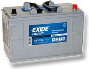 EXIDE Profesional Power HDX 120Ah 12V 120Ah 870A