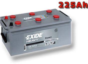 EXIDE Heavy Expert 12V 225Ah 1150A