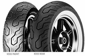 Dunlop K555 120/80 - 17 61V TL