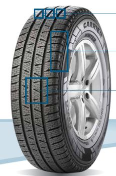 Pirelli CARRIER WINTER 195/70 R15 104R